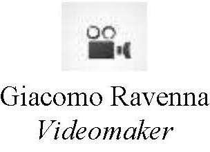 Giacomo Ravenna Videomaker